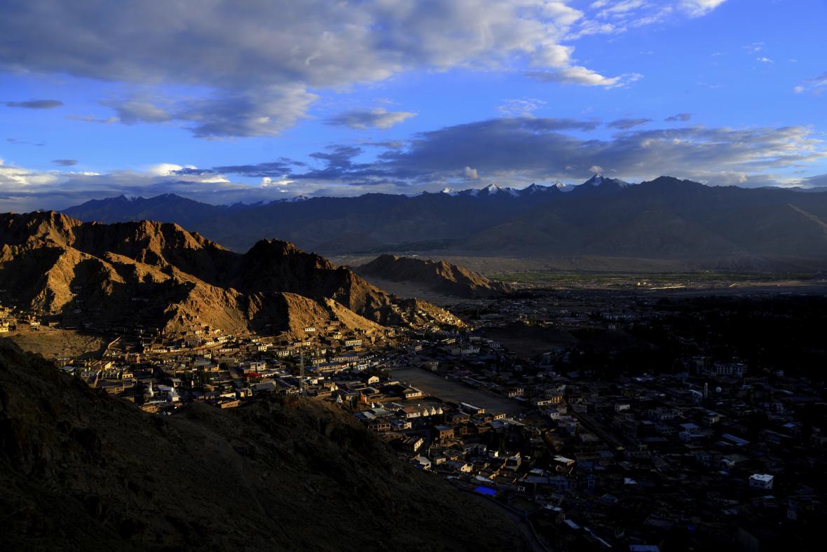 Ladak - město Leh