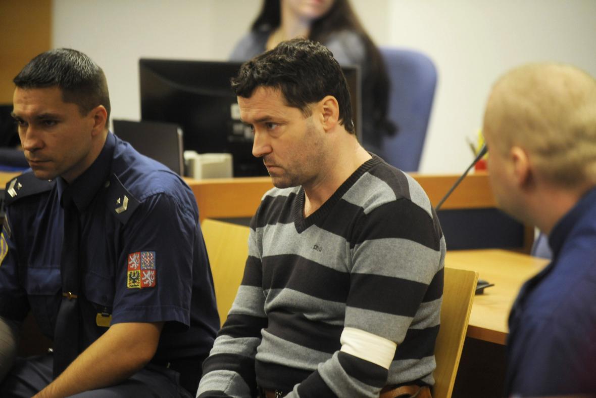 Robert Sedlařík u soudu
