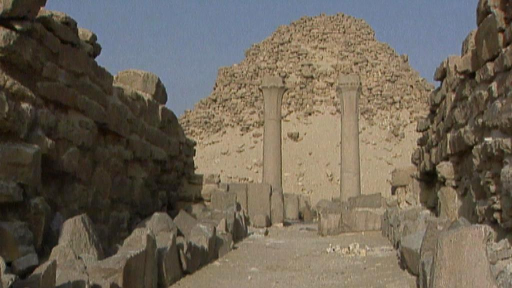 Archeologická naleziště v Abúsíru