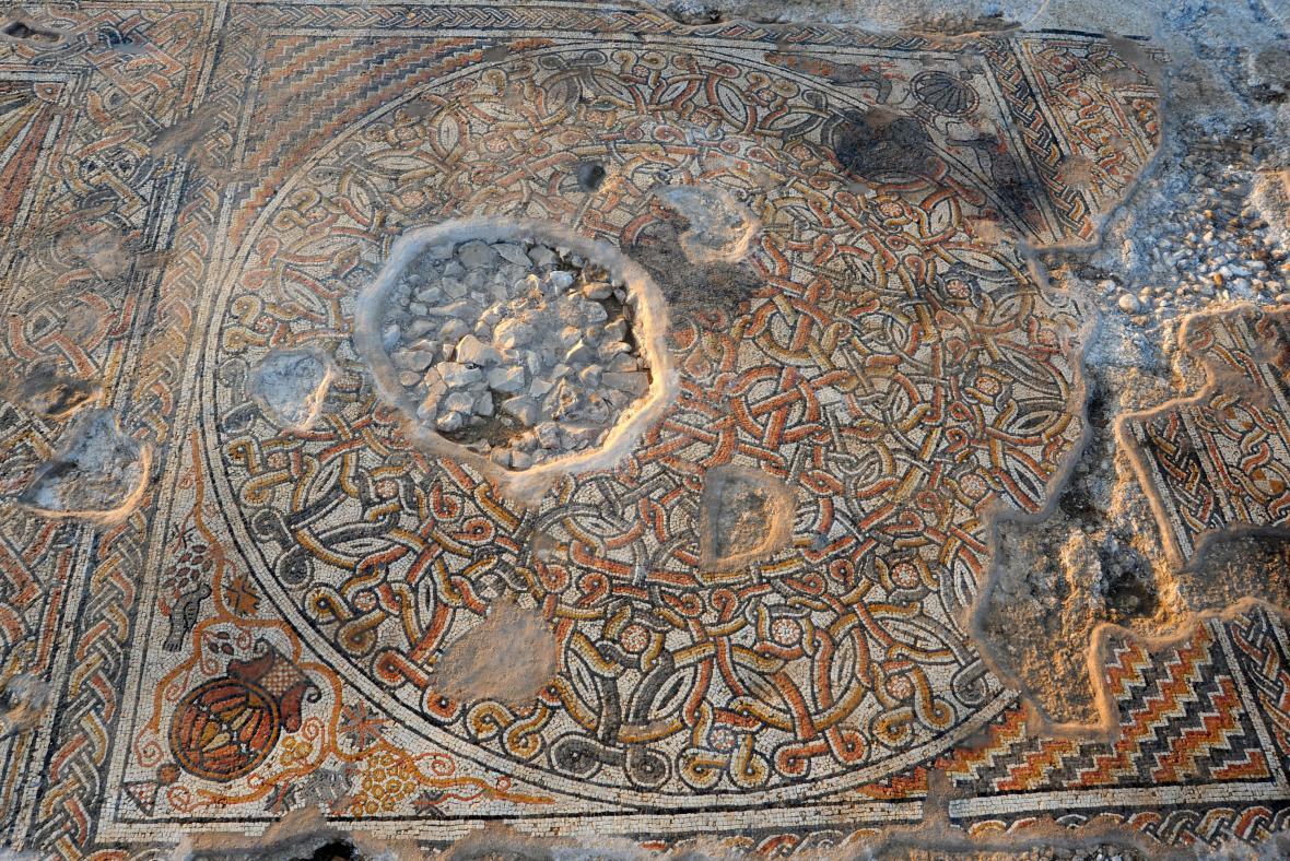 1 500 let stará mozaika z Negevské pouště