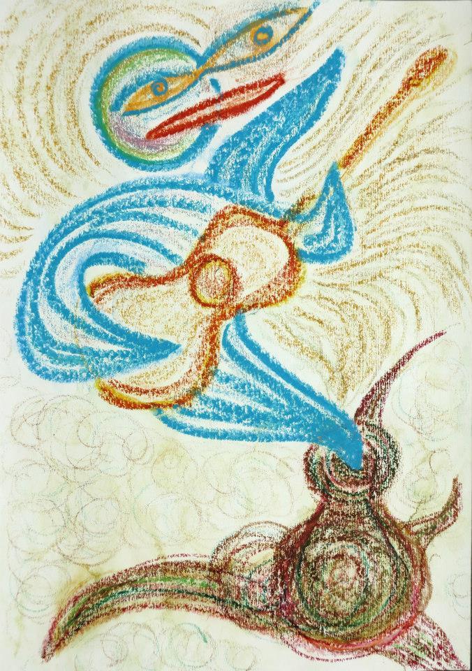 Z výstavy Čáry máry Robínek