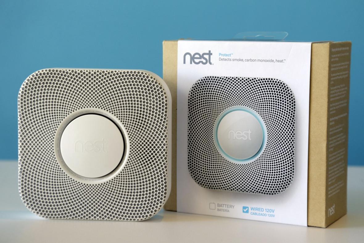 Kouřový detektor firmy Nest