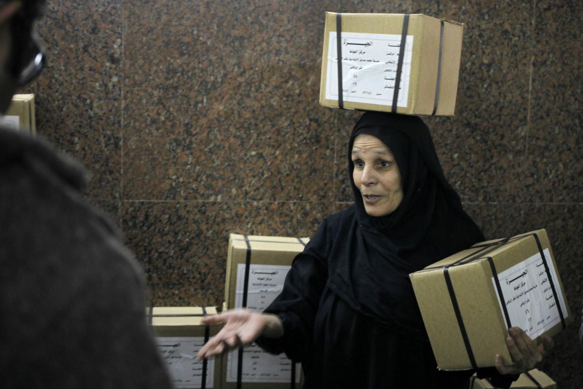 Přípravy na referendum o egyptské ústavě