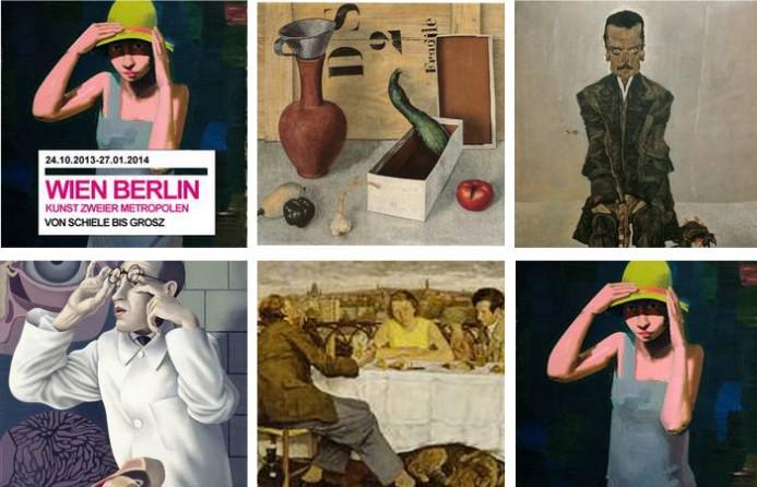 Vídeň Berlín. Umění dvou metropolí