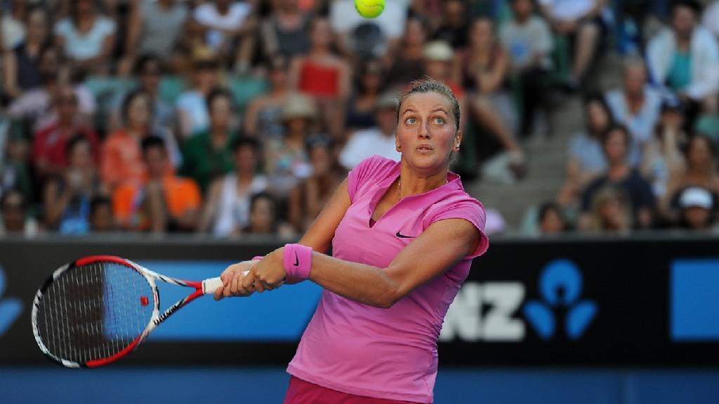 Petra Kvitová v 1. kole Australian Open