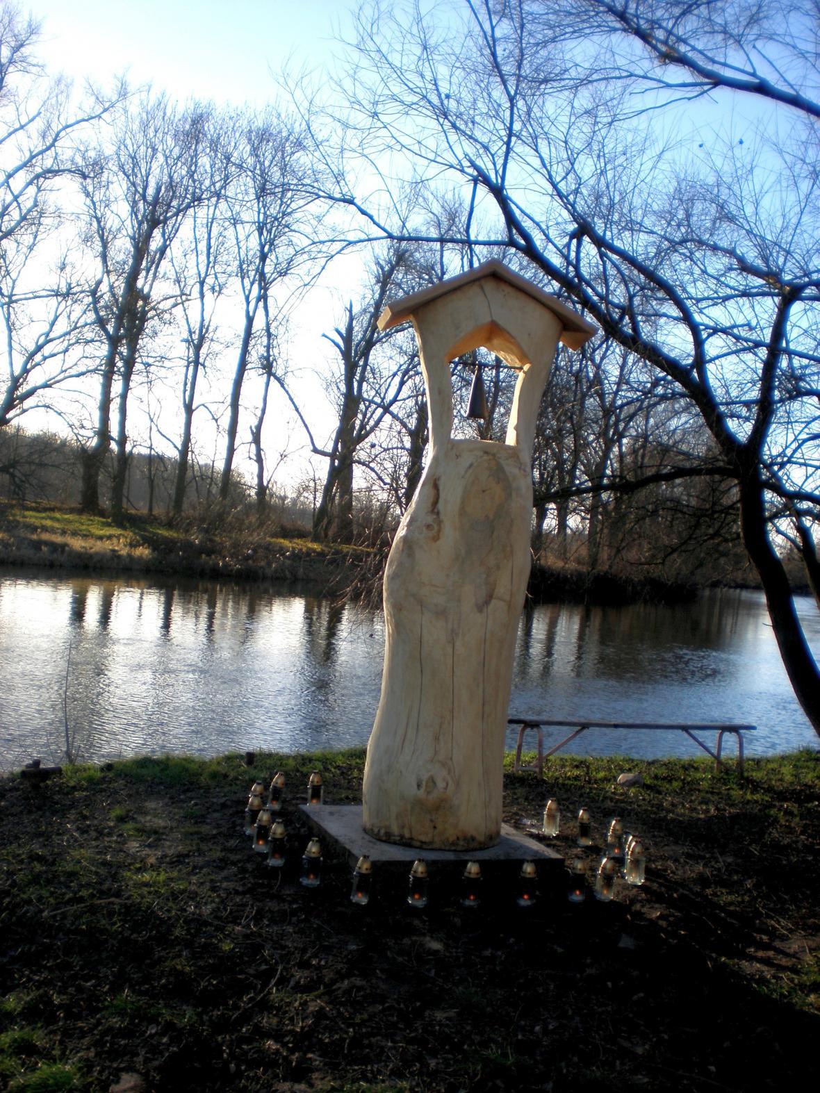Zvonička v Košticích
