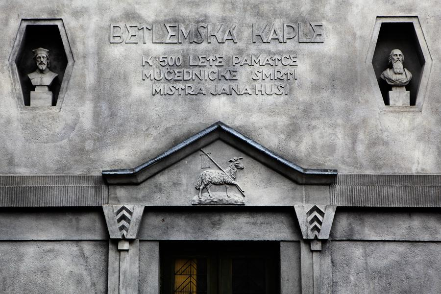 Betlémská kaple s kubistickými prvky v Praze-Žižkově