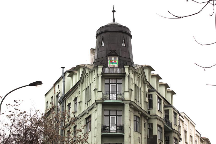 Dům v Husitské ulici v Praze