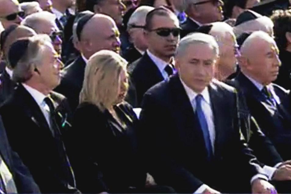 Pohřeb Ariela Šarona