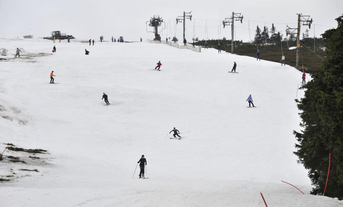 Nejvýše položený lyžařský areál Figura, Ovčárna