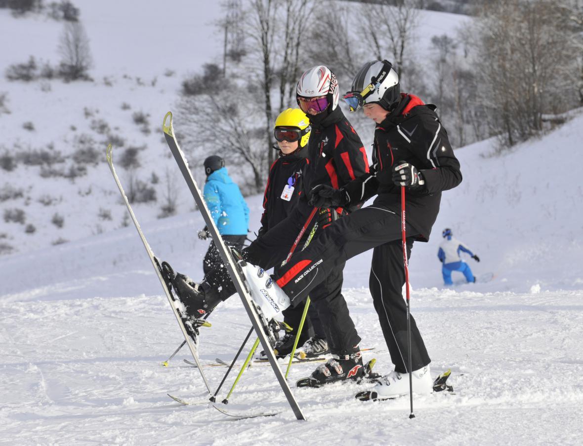 Branná, lyžařské středisko