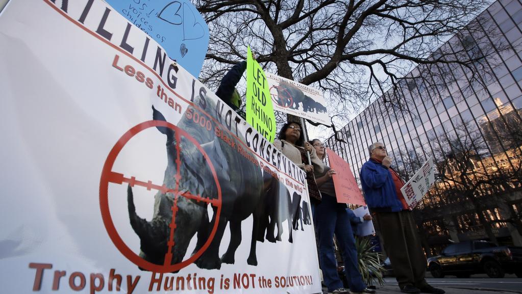 Demonstrace v Dallasu proti