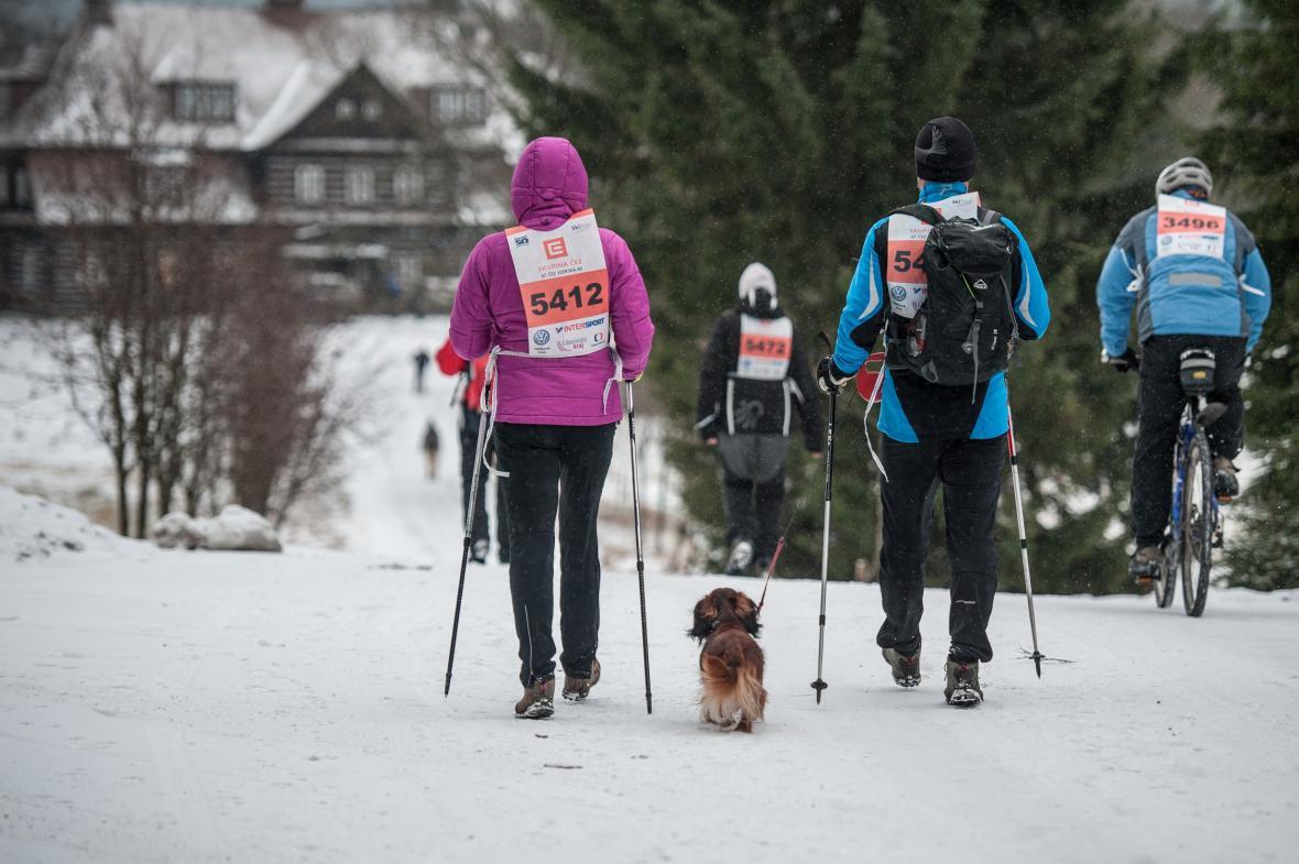 Indiánský běh aneb Jizerská 50 bez sněhu
