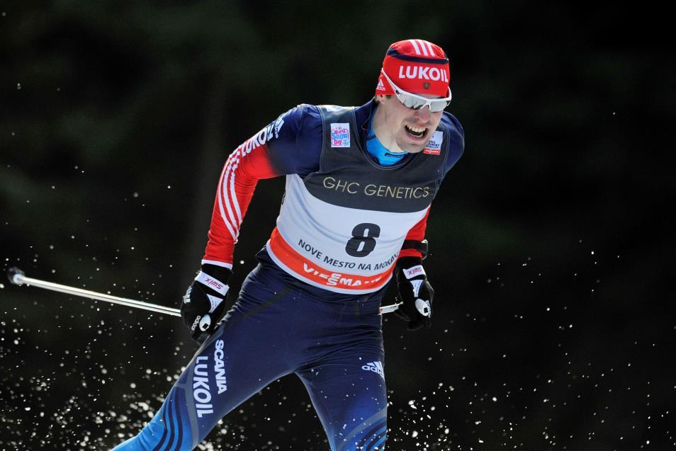Ruský běžec Sergej Usťugov
