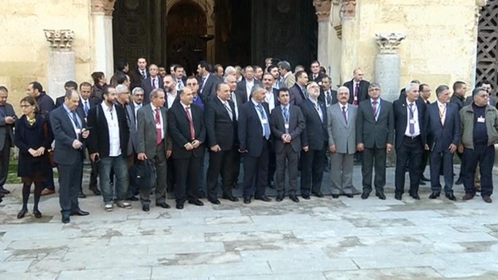 Zástupci syrské opozice ve španělské Córdobě