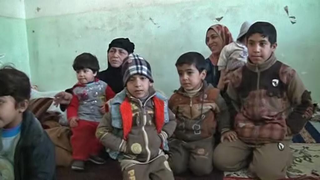 Uprchlíci z irácké Fallúdže