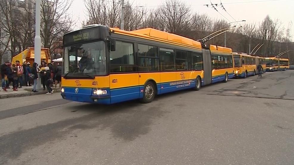 Nástupiště Busfestu