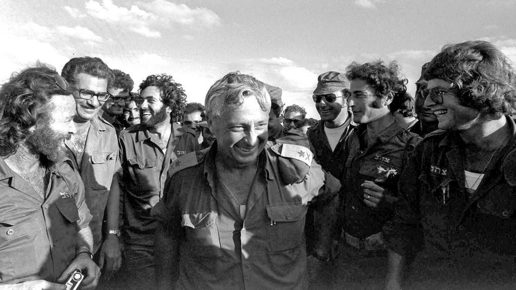 Ariel Šaron v roce 1973 během arabsko-izraelské války