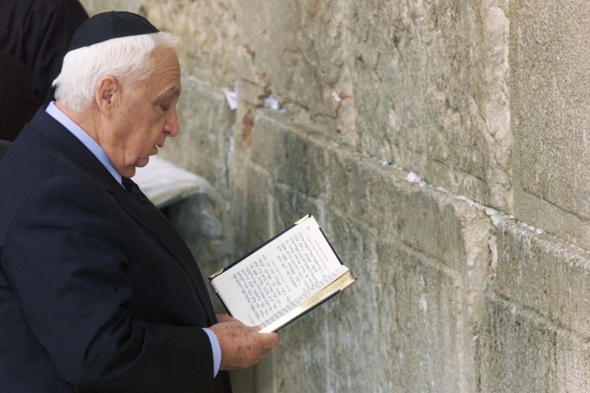 Ariel Šaron u Zdi nářků