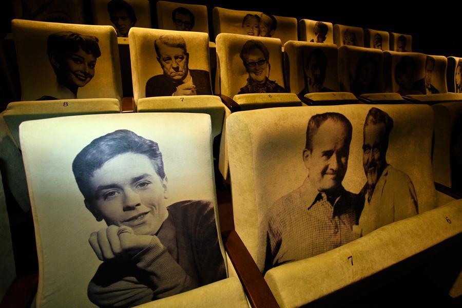 Malý promítací sál kina Lucerna