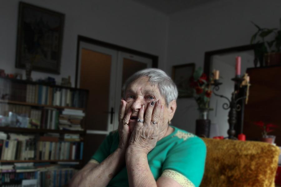 Irena Racková, pamětnice na první transporty z Terezína do Lotyšska