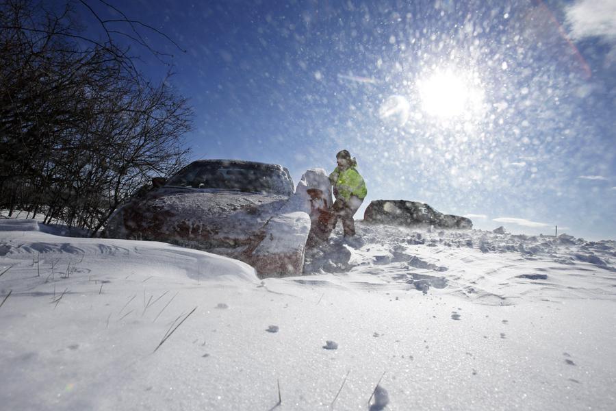 Mrazy v Pensylvánii