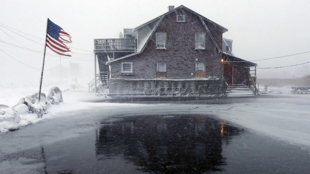 Mrazy a kalamita zasáhly USA