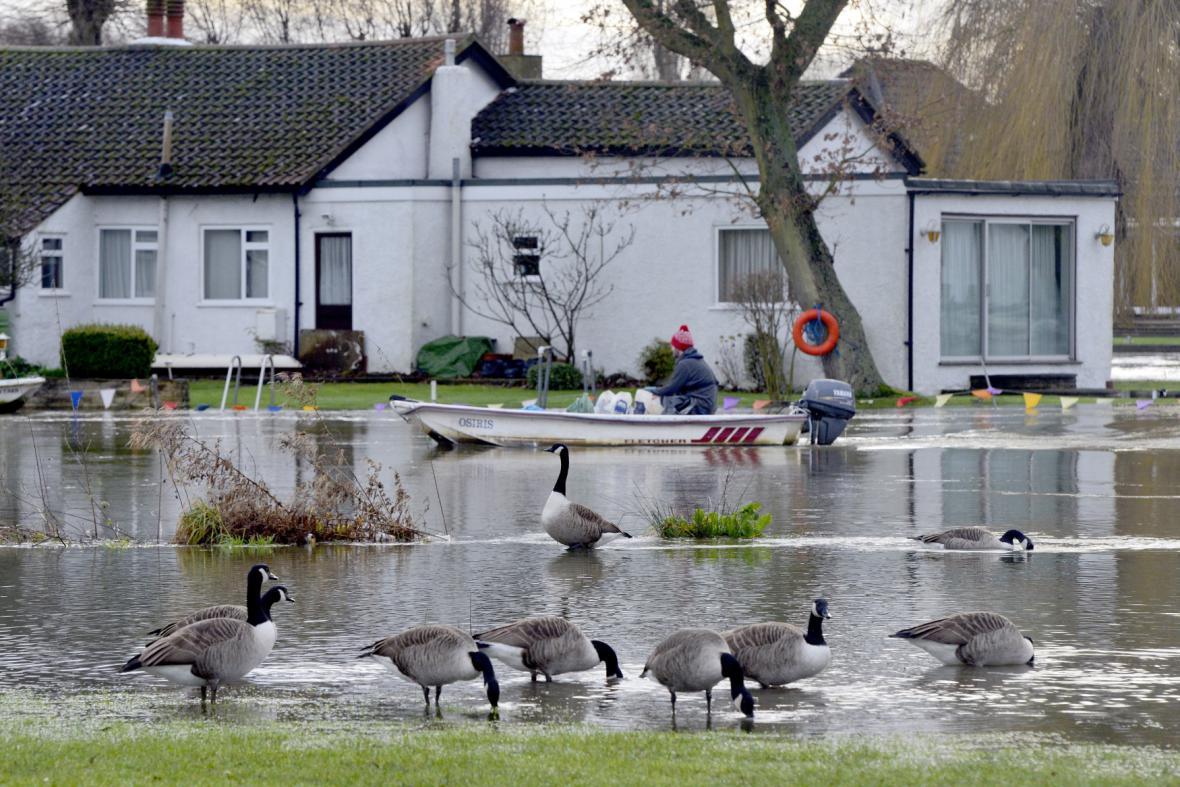 Záplavy ve Velké Británii