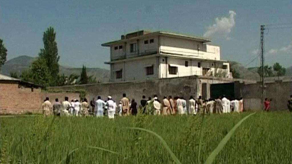 Dům, ve kterém byl zabit Usáma bin Ládin