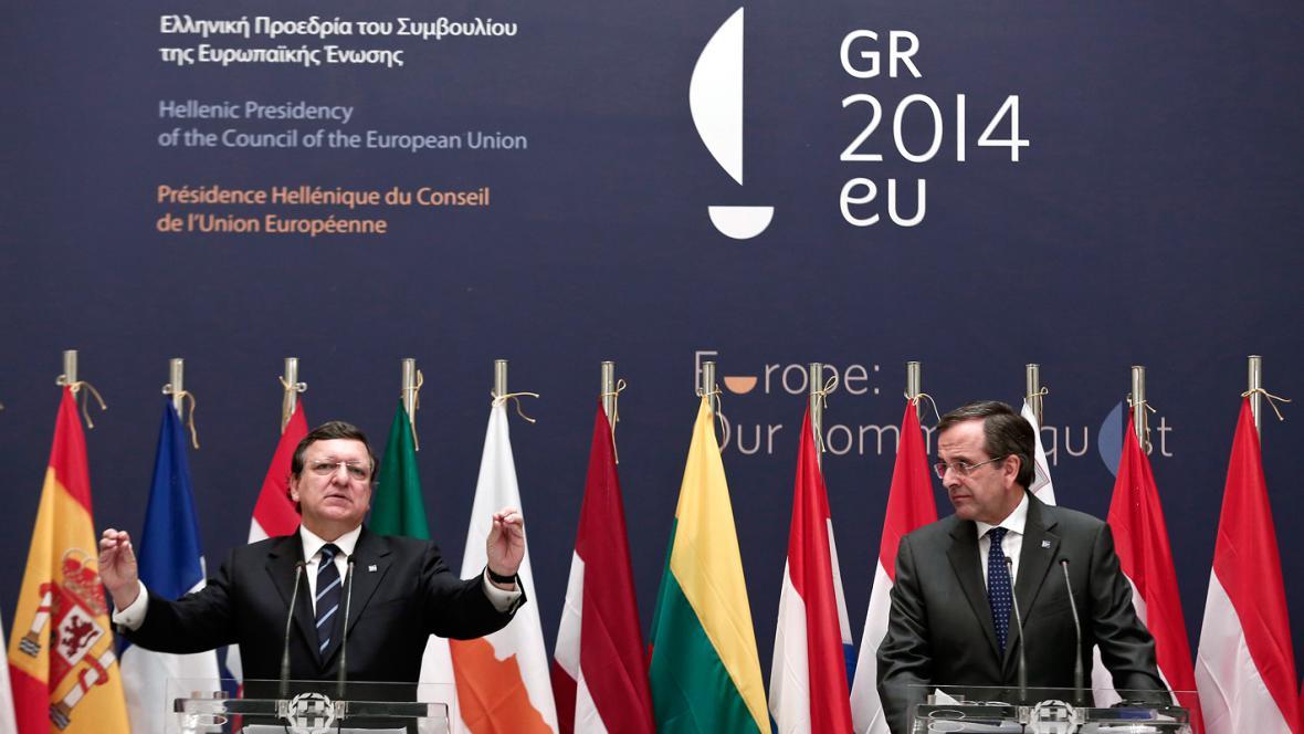 José Barroso a Antonis Samaras