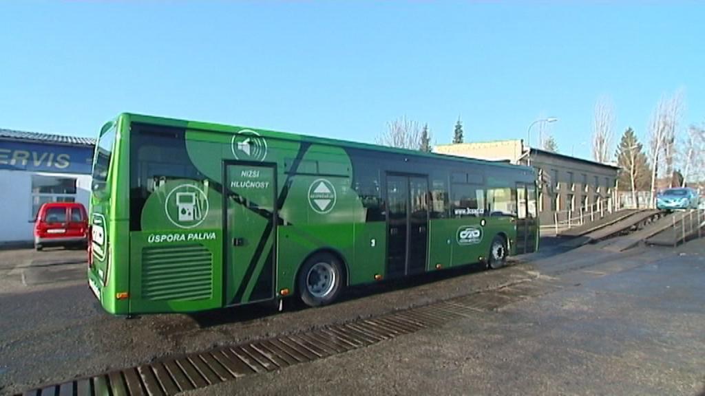 Nejekologičtější autobus Evropy