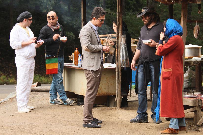 Večírek u Kamiho (režie Ali Ahmadzadeh, 2013)