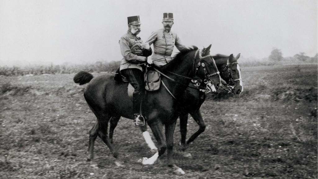 František Josef I. a František Ferdinand d´Este