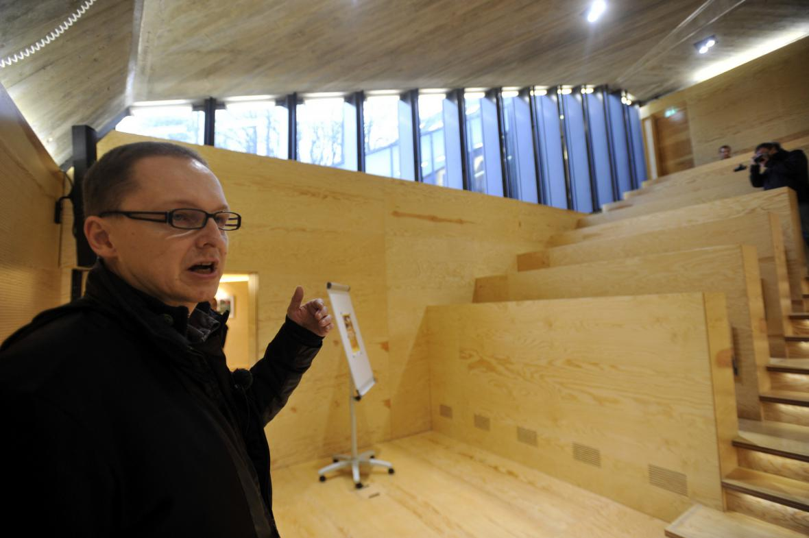 Architekt Petr Hájek představuje