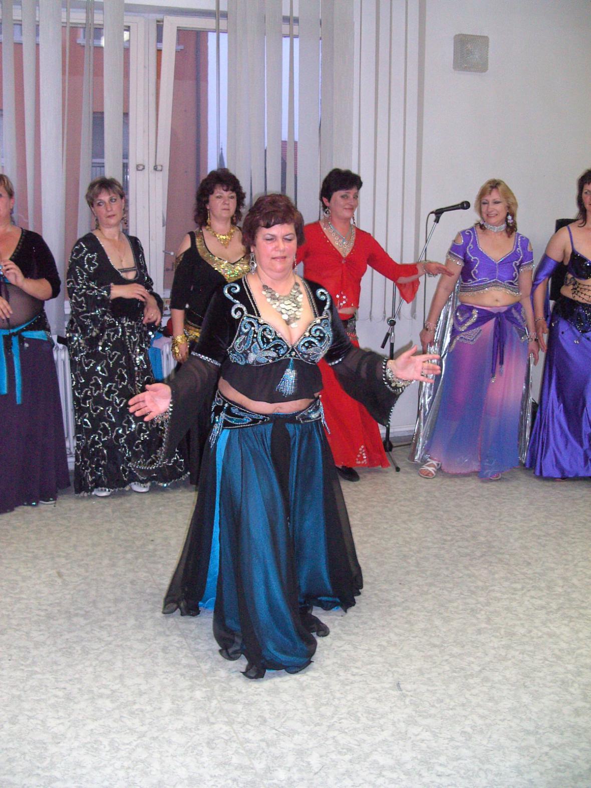 Skupina orientálních tanců Isis