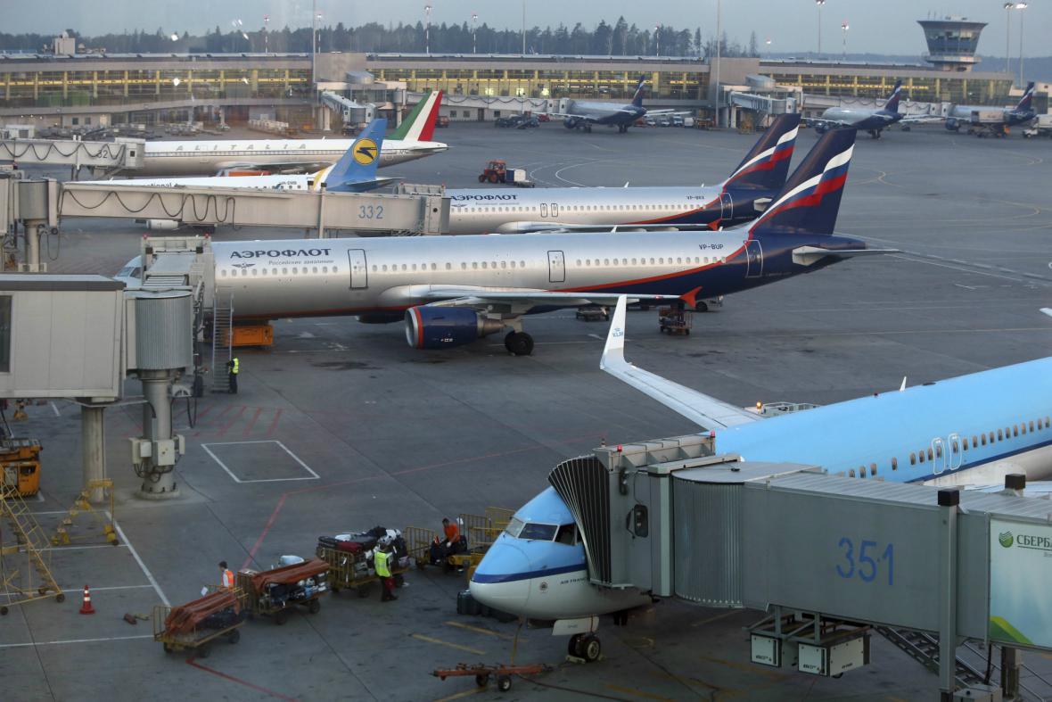 Moskevské letiště Šeremeťjevo