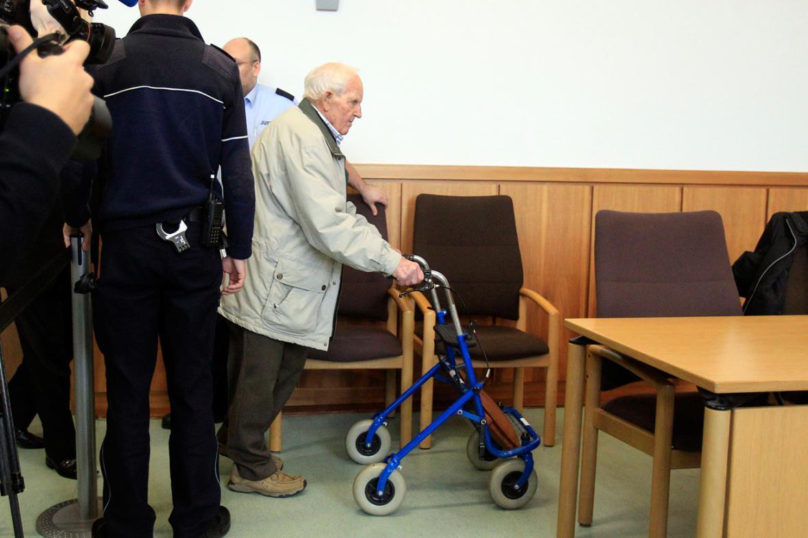 Siert Bruins před soudem v Hagenu
