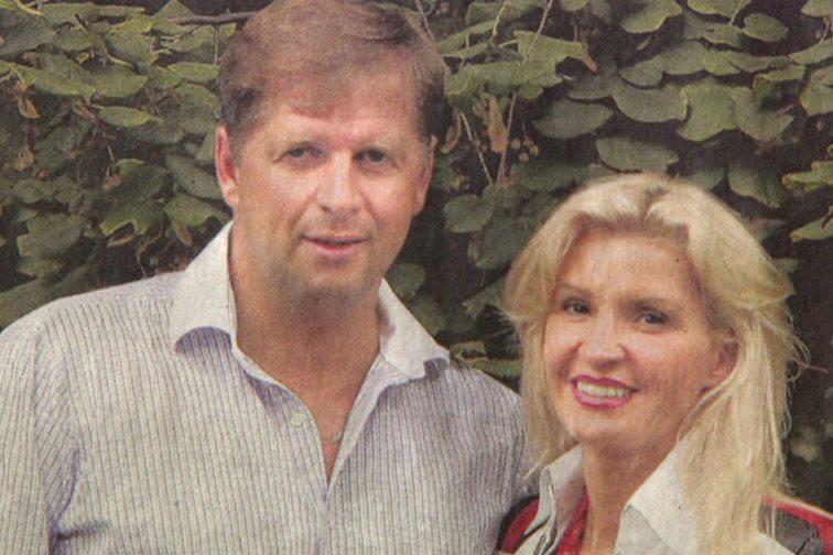 Petr Bendl s bývalou manželkou Tamarou Kotvalovou