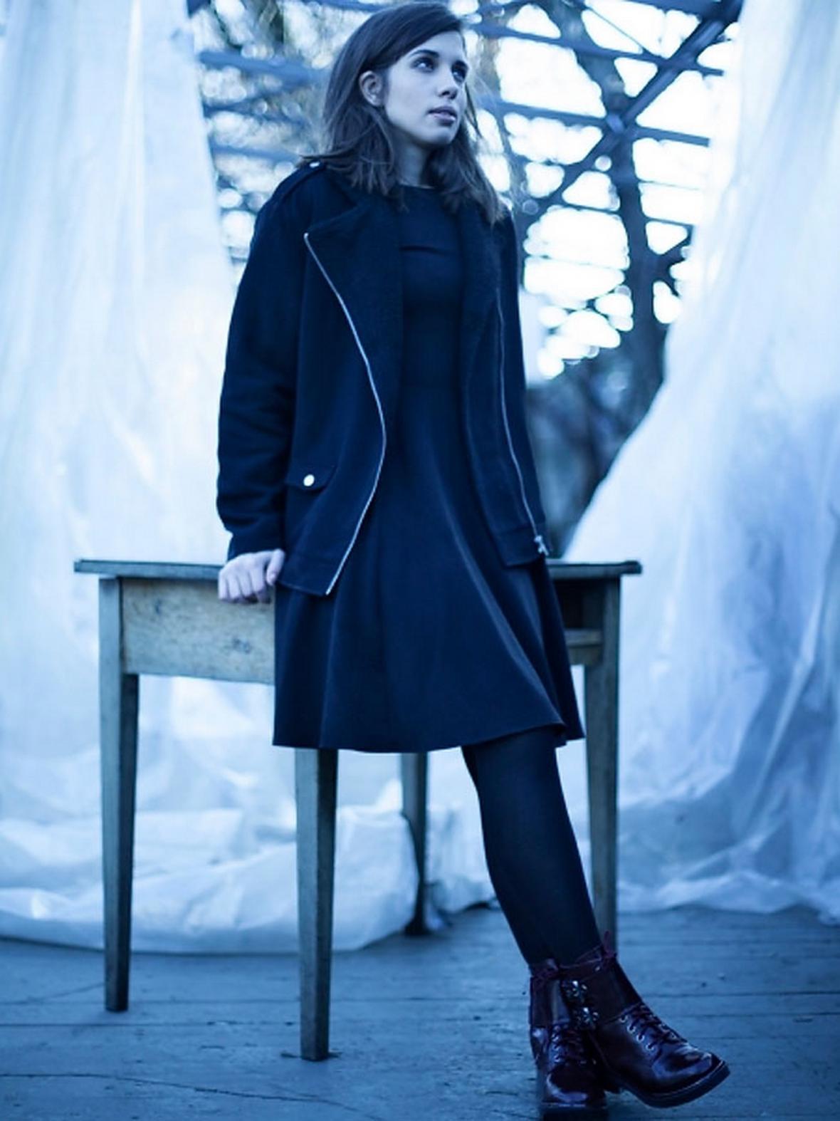 Tolokonnikovová jako modelka americkým oděvníkům