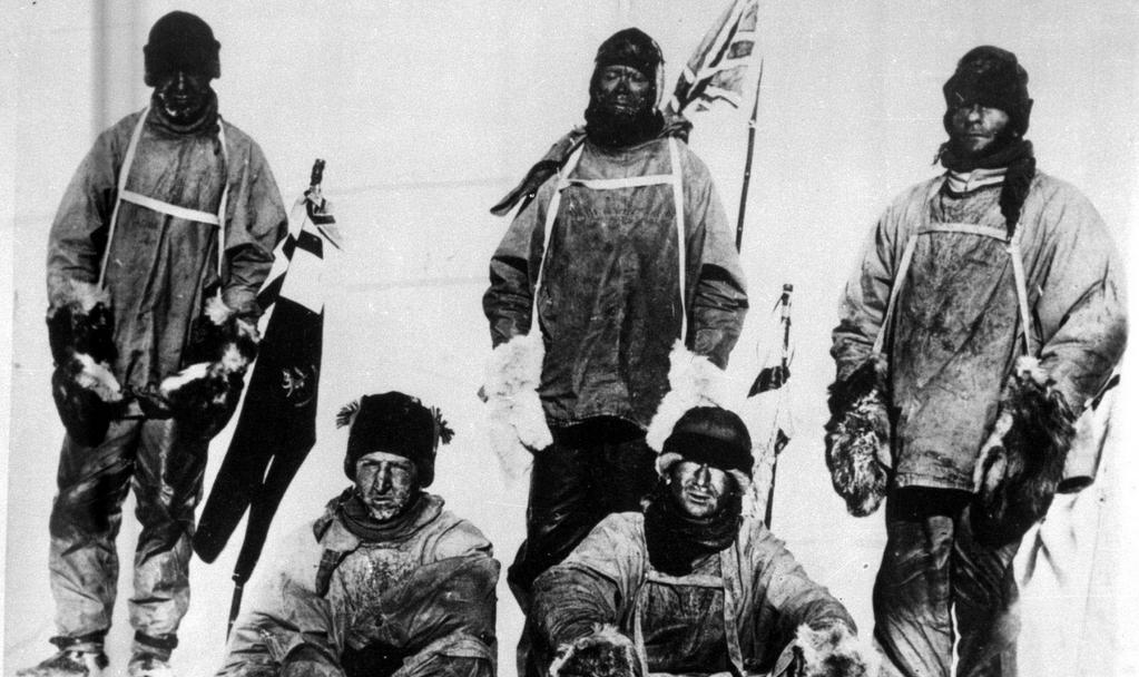 Scottova expedice několik dní před smrtí prvního člena