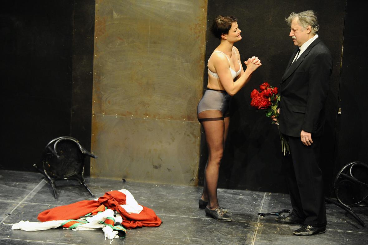 Představení Maryša v brněnském HaDivadle