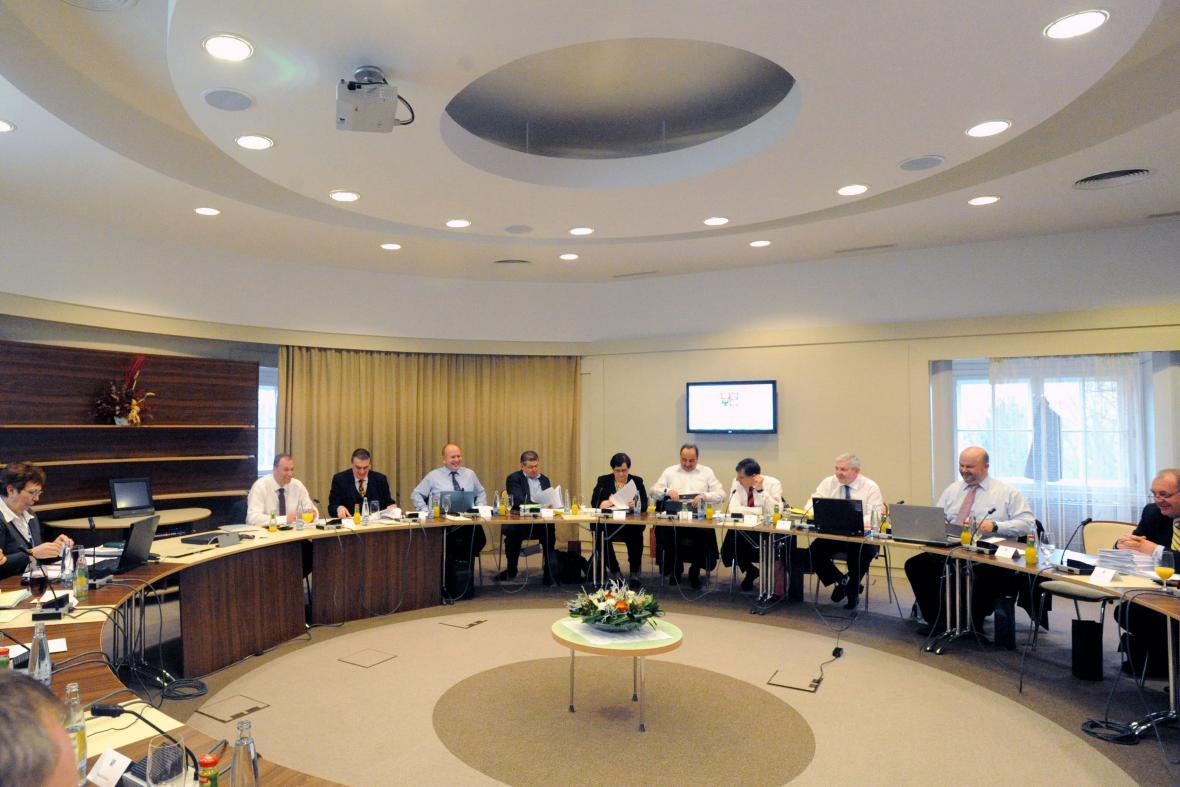 Výjezdní zasedání vlády v Židlochovicích