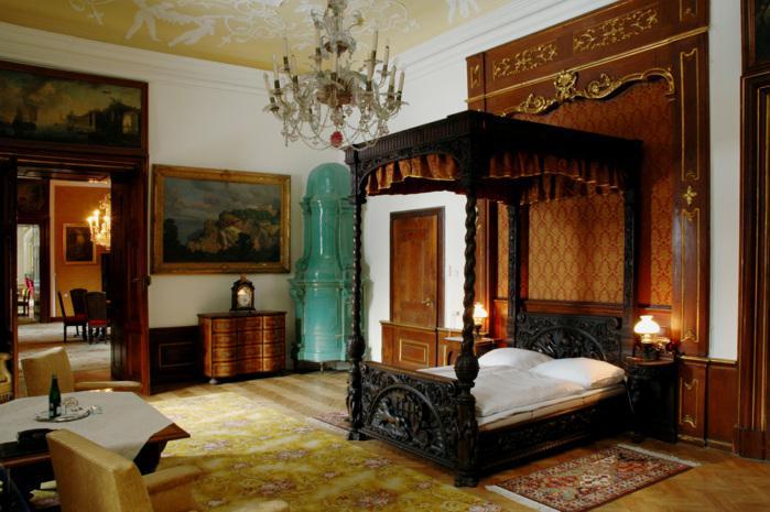 Interiéry židlochovického zámku