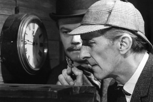 Sherlock Holmes / Peter Cushing