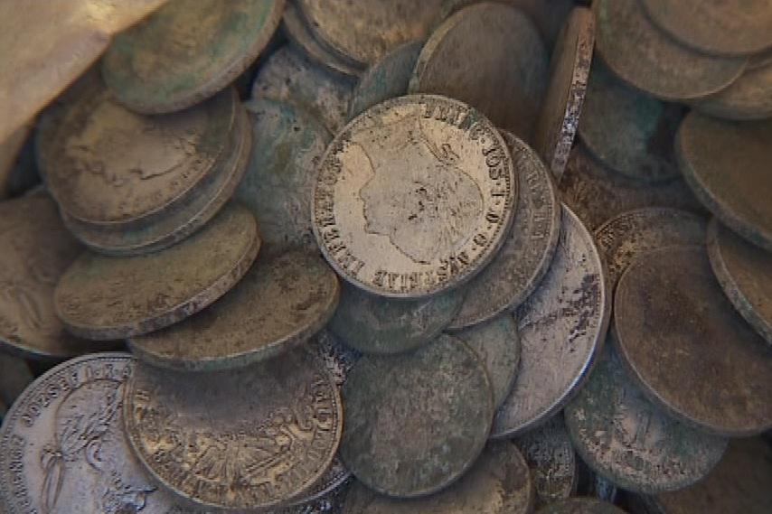 Poklad obsahoval tisíce mincí z dob první světové války