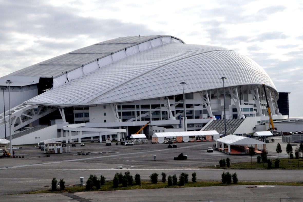 OH v Soči: Olympijský stadion Fišt