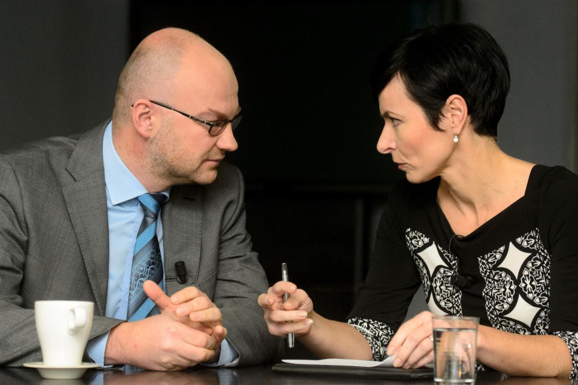 Tomáš Lichovník a Lenka Bradáčová