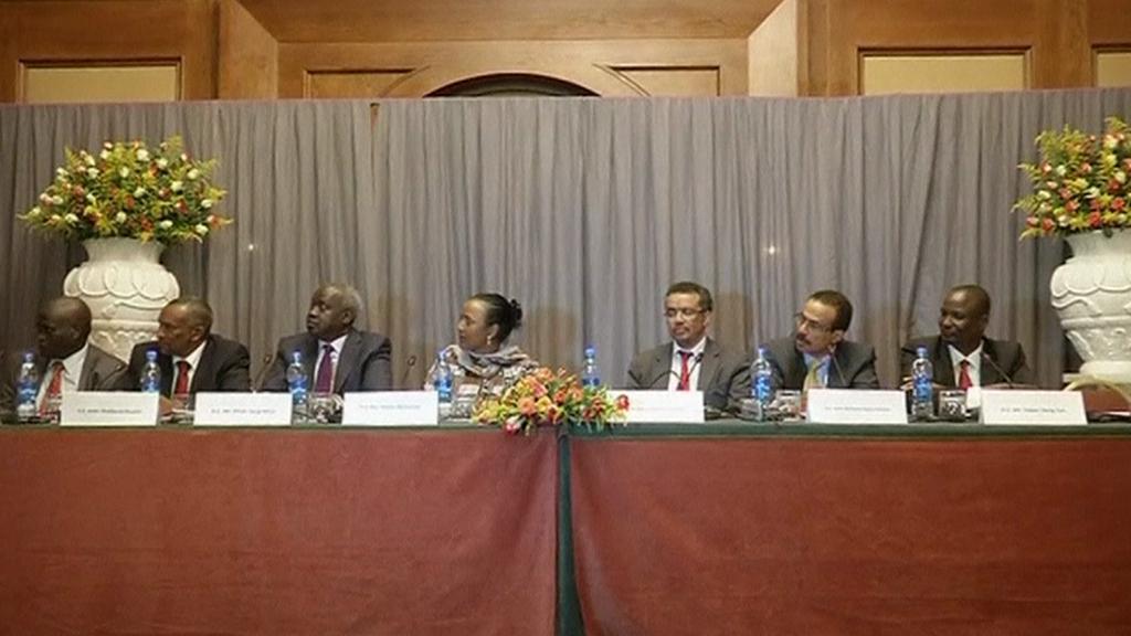 Mírová jednání v Etiopii