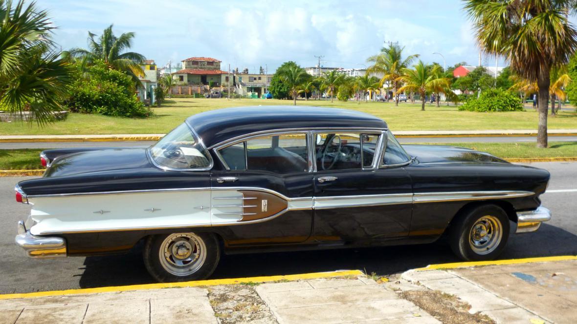Typický kubánský old-timer