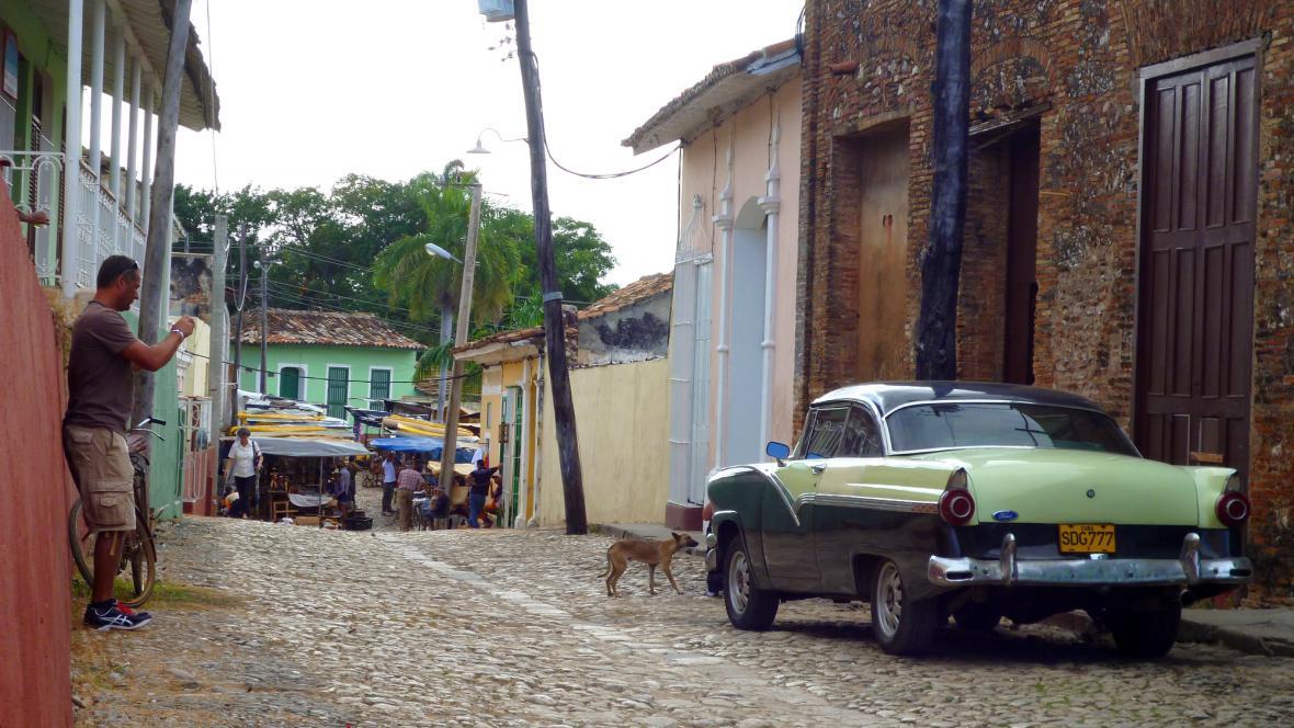 I v Trinidadu jezdí old-timery